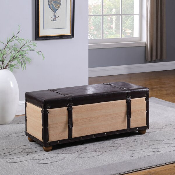 Donita Upholstered Storage Bench By Millwood Pines