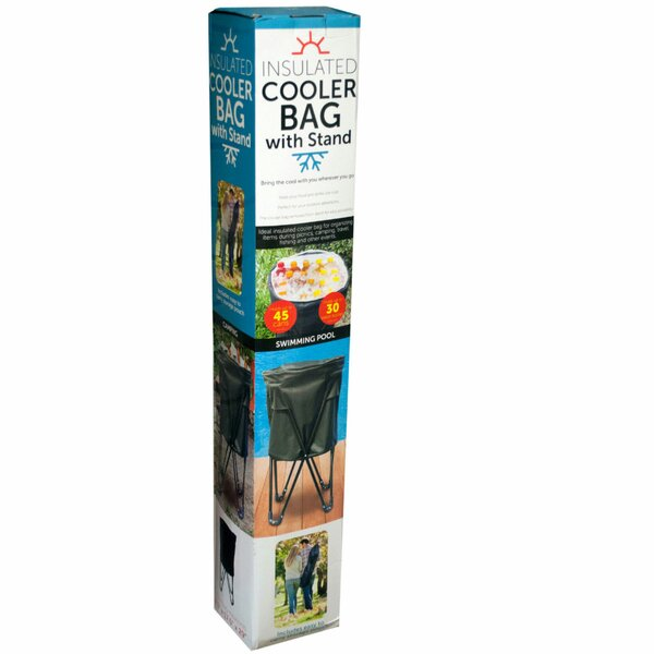 45 Can Insulated Cooler Bag with Stand by Kole Imports