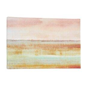 Landscape Autumn Framed on Canvas by Mercury Row