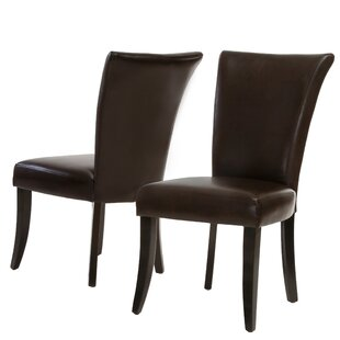 Compare prices Heurich Parsons Chair (Set of 2) by Red Barrel Studio
