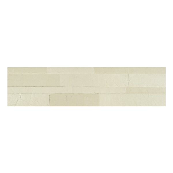 Bolder Stone 6 x 24 Mixed Material Self Adhesive Mosaic Tile in Alabaster by Achim Importing Co