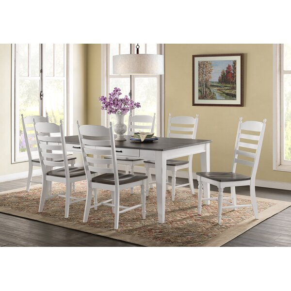 Looking for Belgium 7 Piece Solid Wood Dining Set By August Grove Great Reviews
