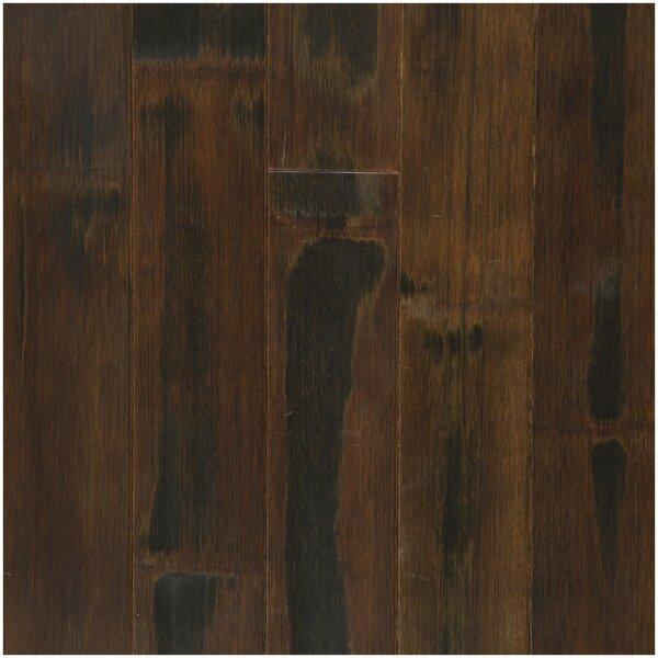 3-3/4 Solid Bamboo  Flooring in Shadow by Easoon USA