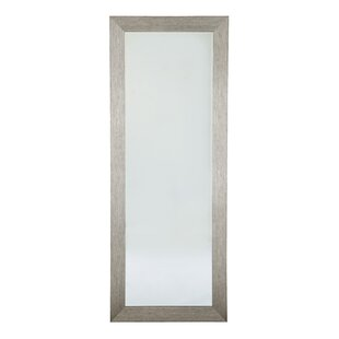 Ivy Bronx Brysen Rectangle Silver-Tone Wall Mirror