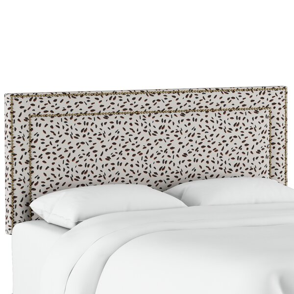 Marksbury Upholstered Panel Headboard by Wrought Studio