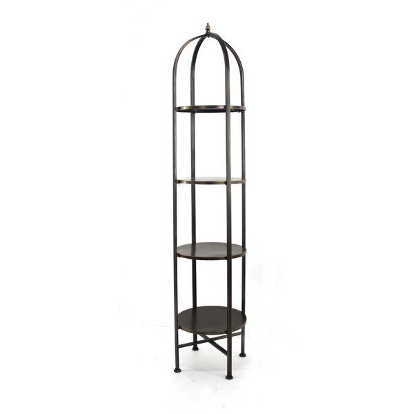 Raphael Birdcage Etagere Bookcase by 17 Stories