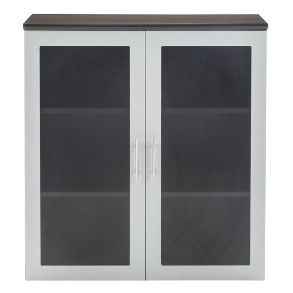 Medina Glass Door Accent Cabinet by Mayline Group