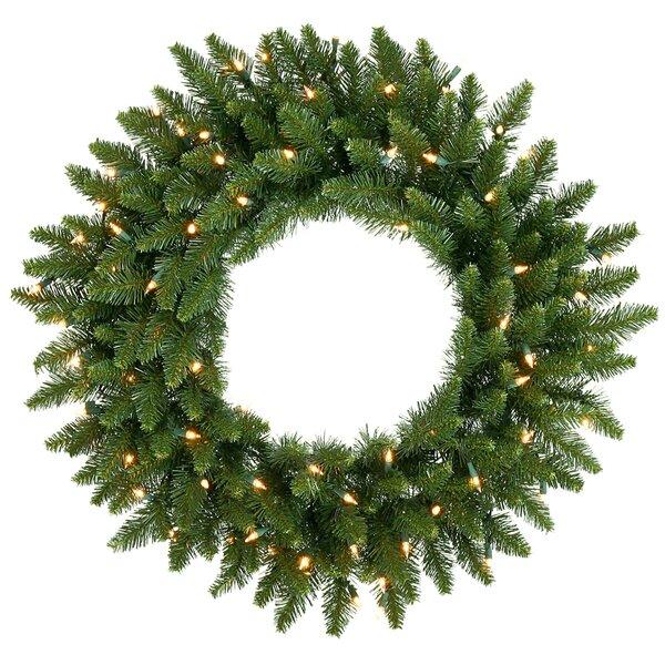 Camdon Fir Wreath by The Holiday Aisle