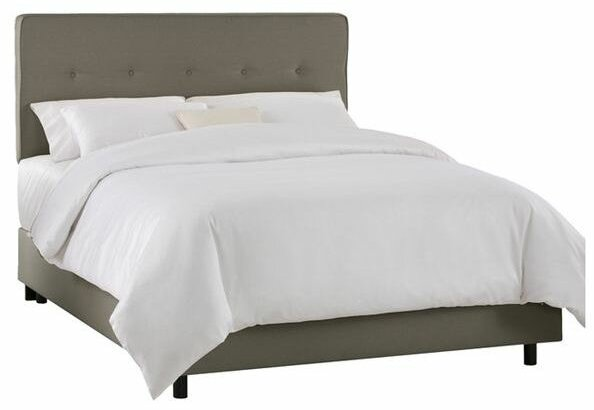 Marcy Tufted Upholstered Standard Bed by Skyline Furniture