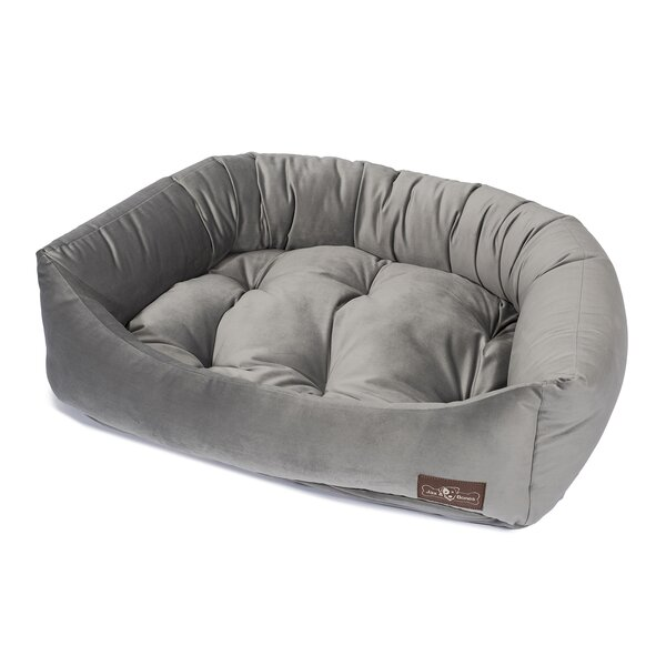 Plush Velour Napper Bed by Jax & Bones