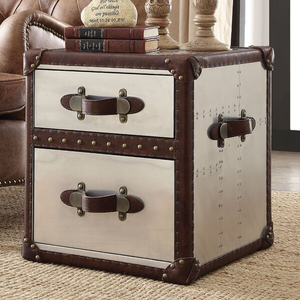 Kasha End Table by Williston Forge