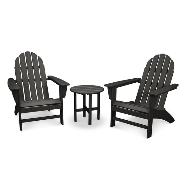 Classic Adirondack 3 Piece Seating Group by POLYWOOD®