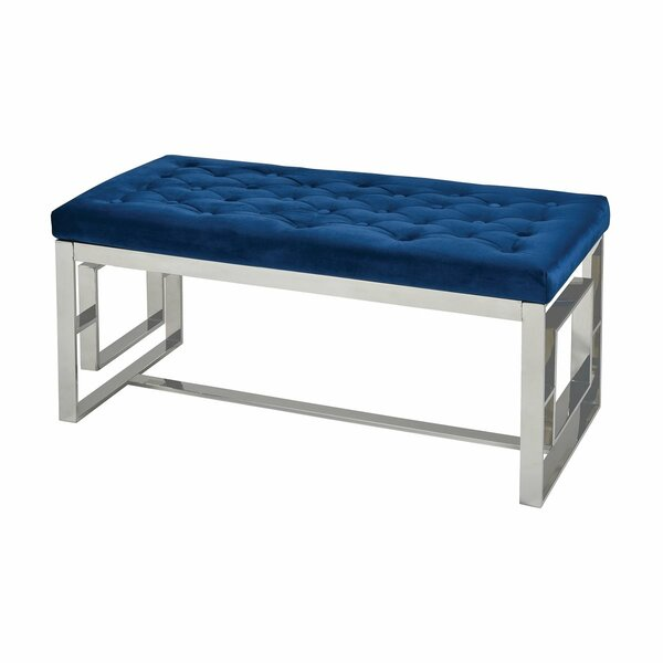 Seale Upholstered Bench by Everly Quinn