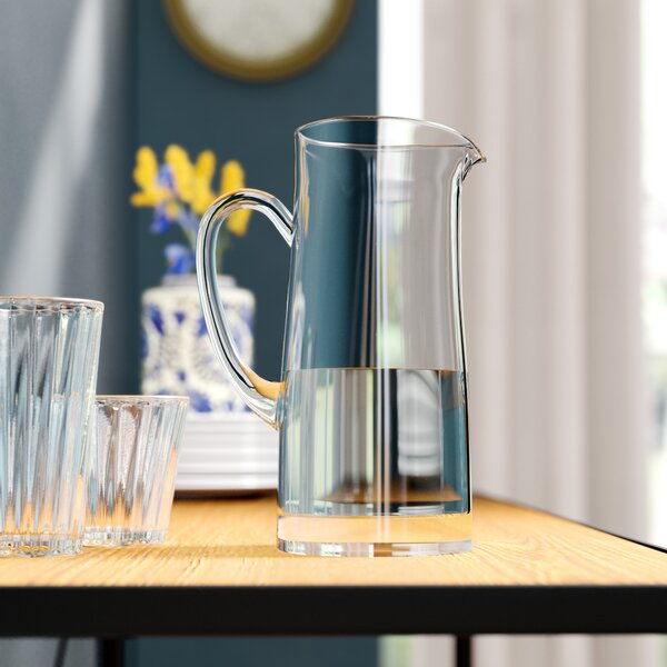 Classic Glassware 60 Oz. Pitcher by Birch Lane™