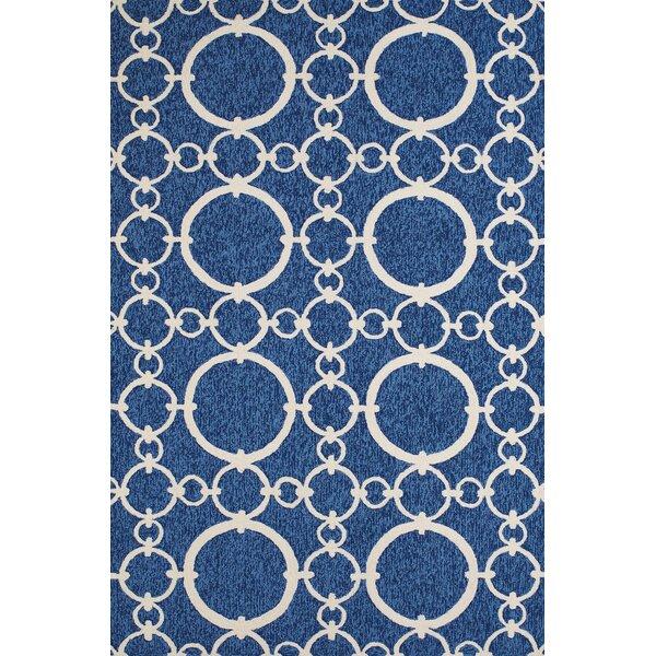 Chainweaver Hand-Woven Blue Indoor/Outdoor Area Rug by Panama Jack Home