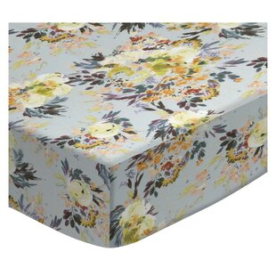 Best Reviews Bare Floral Garden 3 Piece Crib Bedding Set ByHarriet Bee
