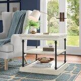 Poynor Floor Shelf End Table with Storage by Joss & Main
