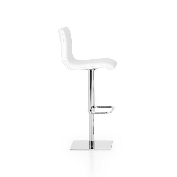 Rest Adjustable Height Swivel Bar Stool by YumanMod