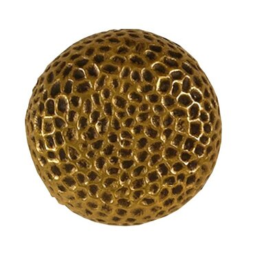 Hammered Mushroom Knob by Waterwood Hardware