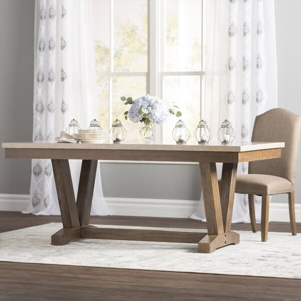 Knutsford Dining Table by Three Posts