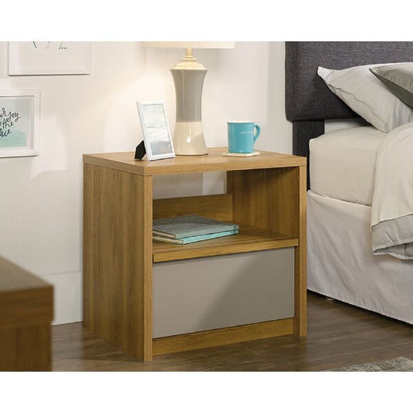Ceja 1 Drawer Nightstand by Foundry Select