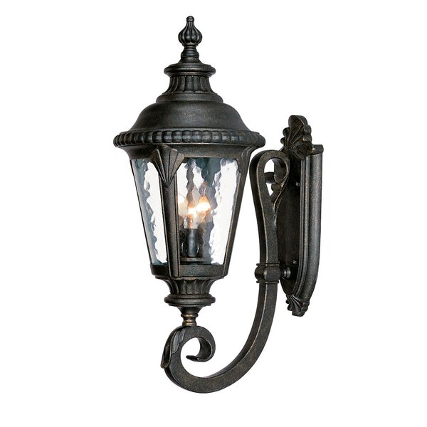 Appel 3-Light Outdoor Sconce by Astoria Grand