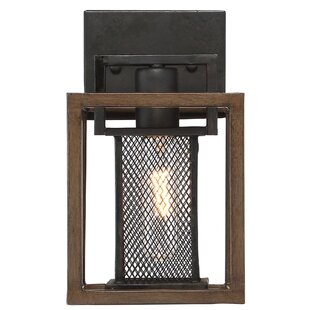 Coupon Minor 1-Light Bath Sconce By Union Rustic