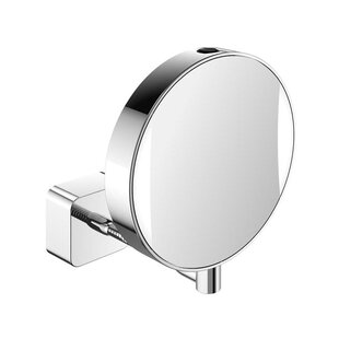 Imago Flexible LED Hard Wired Reversible Magnifying Mirror ByWS Bath Collections