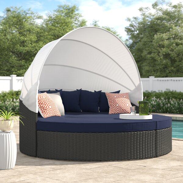 Tripp Patio Daybed with Sunbrella Cushions by Brayden Studio Brayden Studio
