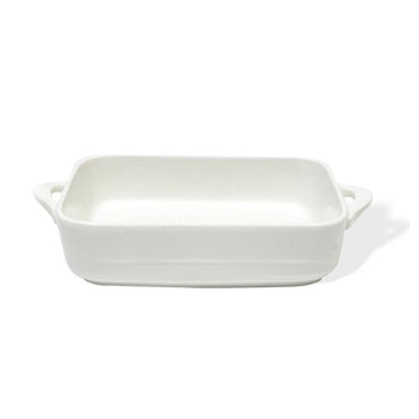 White Basics Oven Chef Rectangular Baker (Set of 2) by Maxwell & Williams