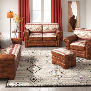 Deer Sleeper Valley 4 Piece Sleeper Living Room Set by Millwood Pines