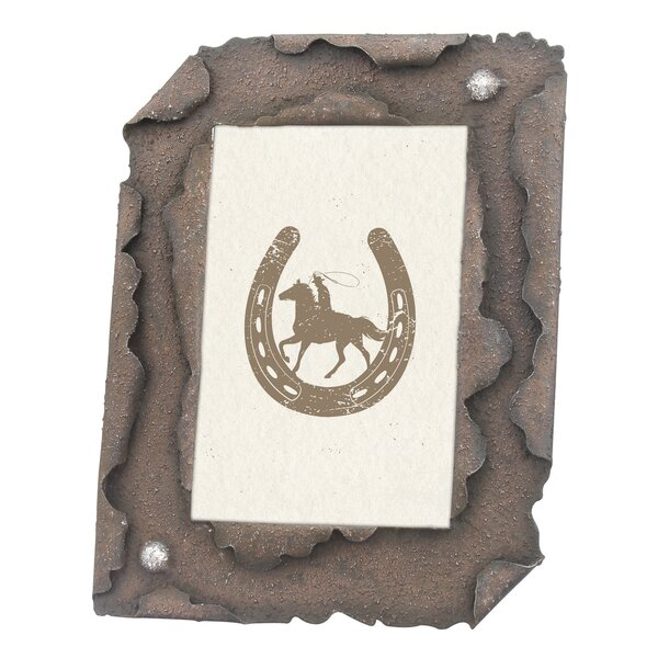 Rustic Steel Metal Picture Frame by Williston Forge