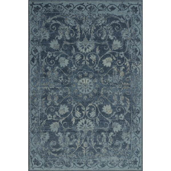 Charroux Denim Oriental Area Rug by Lark Manor