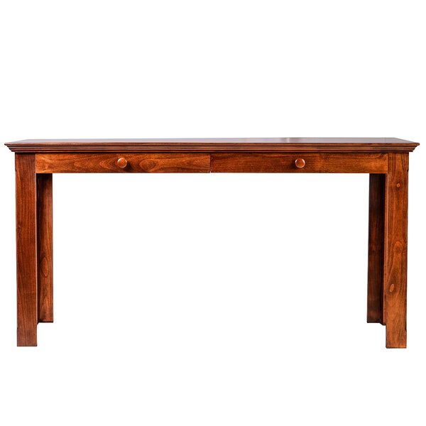 Mcdonough Table with Drawer Writing Desk by Loon Peak