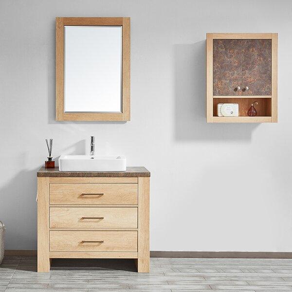 Kemp 36 Single Bathroom Vanity Set with Mirror by Union Rustic