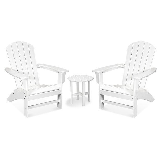 Yacht Club 3 Piece Seating Group by Trex Outdoor