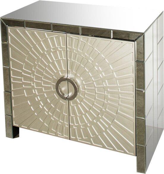 La Croisette 2 Door Accent Cabinet by Mercer41 Mercer41