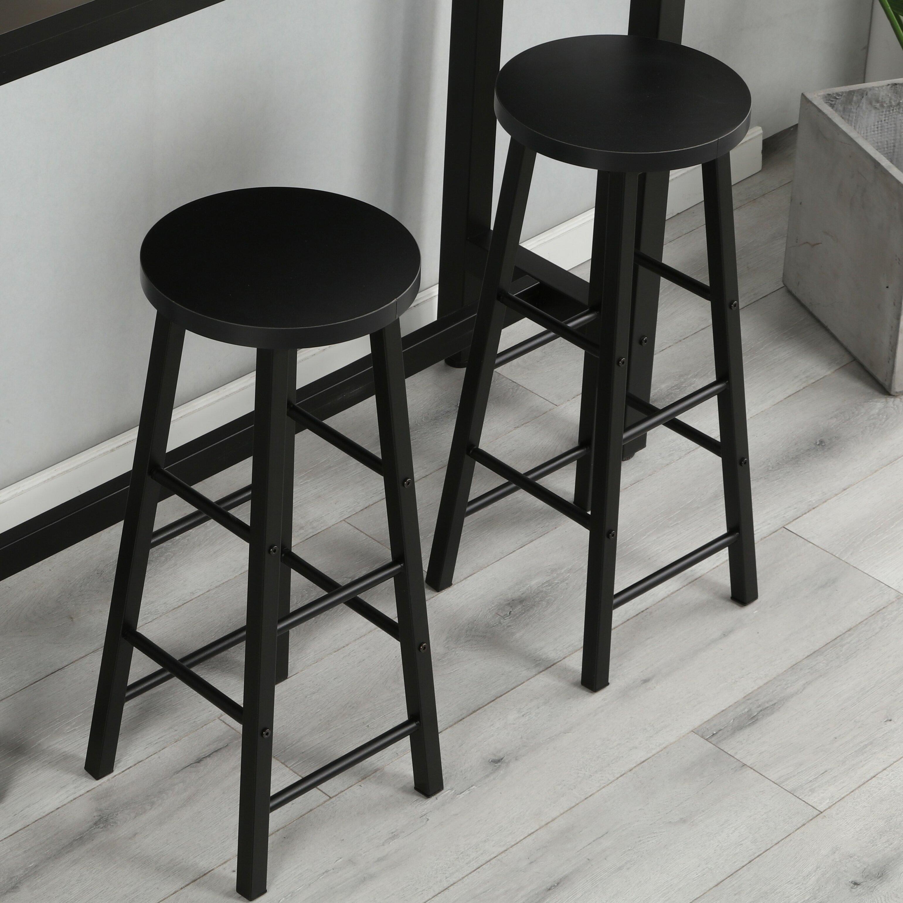 Stupendous Cota Bar Stool Set Of 2 Spiritservingveterans Wood Chair Design Ideas Spiritservingveteransorg