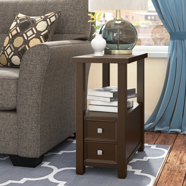 Choate End Table With Storage By Winston Porter