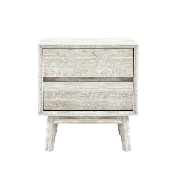 Britton 2 Drawer Nightstand by Union Rustic