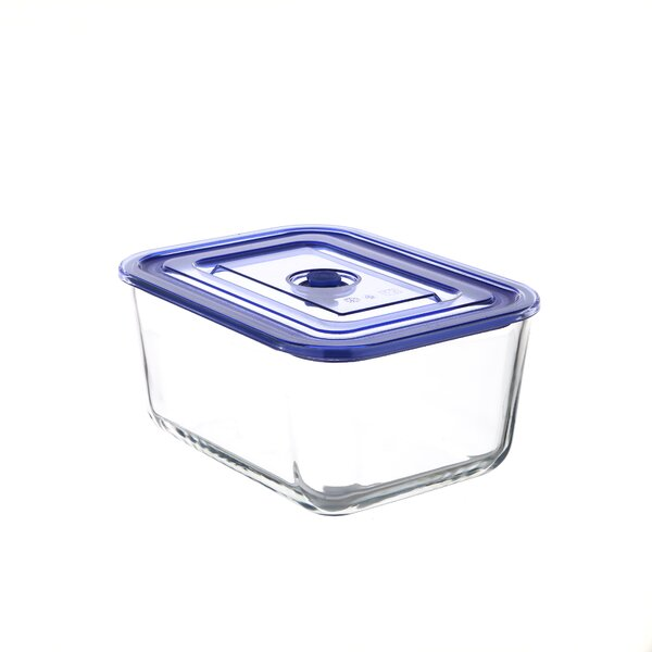 Go Green Glasslock Elements Premier Rectangular Oven Safe 17 Oz.Food Storage Container by Kinetic