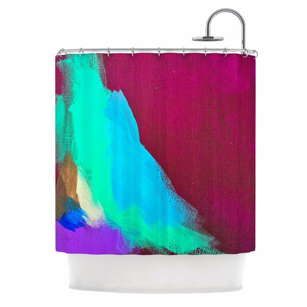 Geordanna Fields Sit Still Look Pretty Shower Curtain by East Urban Home