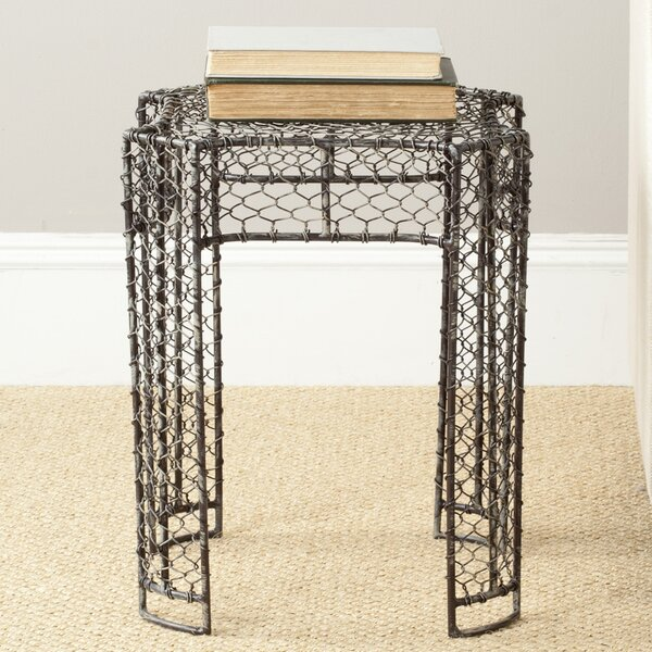 Smith Wired Weaved Stool by Safavieh