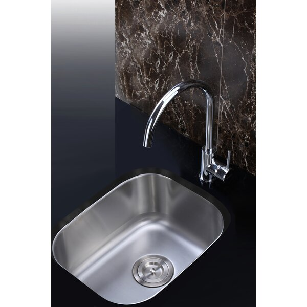 Parmi 15 L X 19 W Undermount Bar Sink By Ruvati.