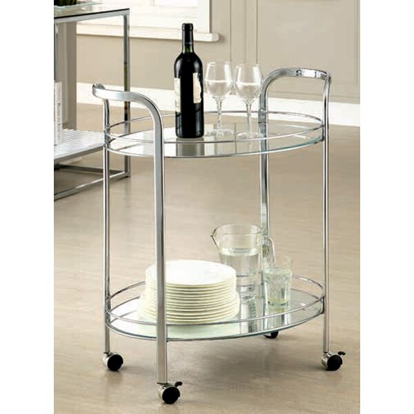 Aburizik Enstar Bar Cart by Ebern Designs Ebern Designs