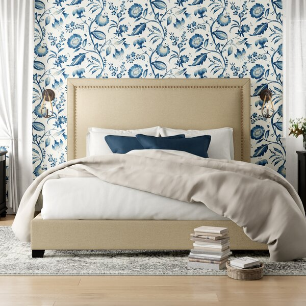 Agda Upholstered Standard Bed by Birch Lane™ Heritage