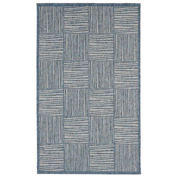 Beck Blue Indoor/Outdoor Area Rug by Ebern Designs
