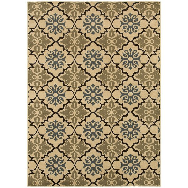 Sheridan Blue/Green Area Rug by Threadbind