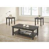 Tapley 3 Piece Coffee Table Set