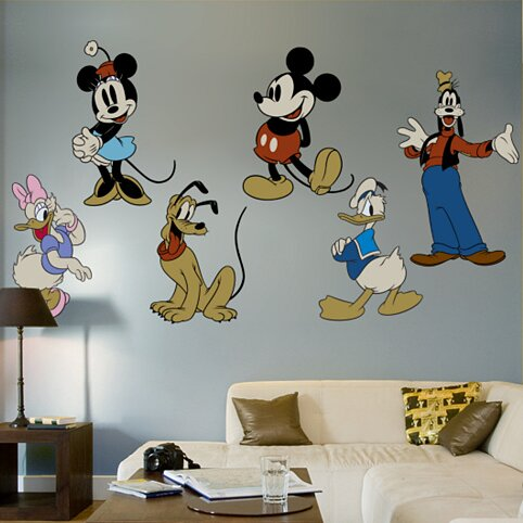 Classic Mickey Mouse and Friends Wall Decal by Fathead